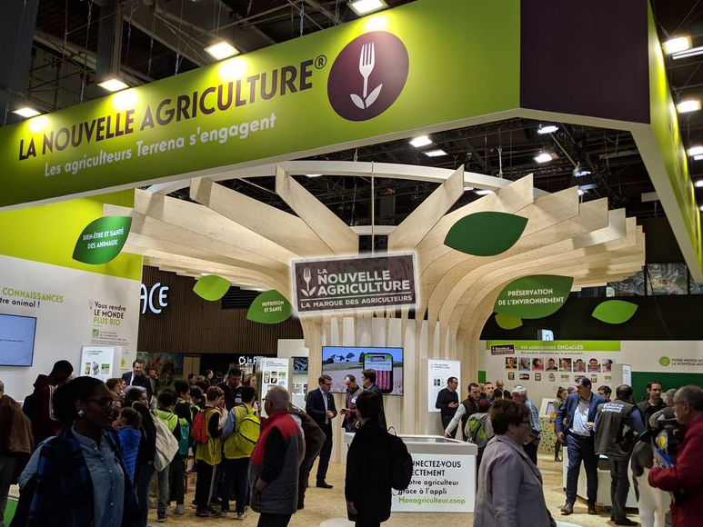 helice-holographique-3D-stand-nouvelle-agriculture
