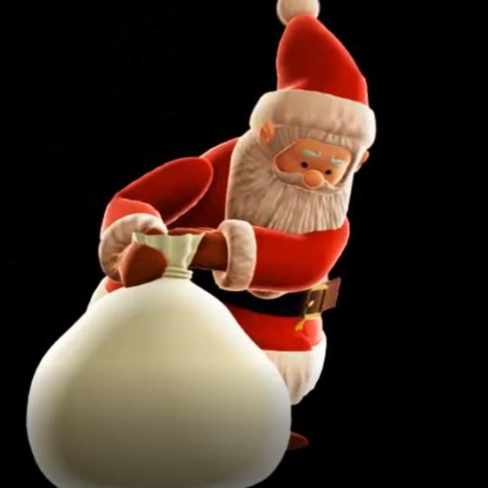 Père-Noël-sac